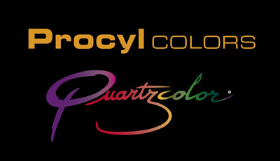 Procyl Colors técnica Quartzcolor arena de colores