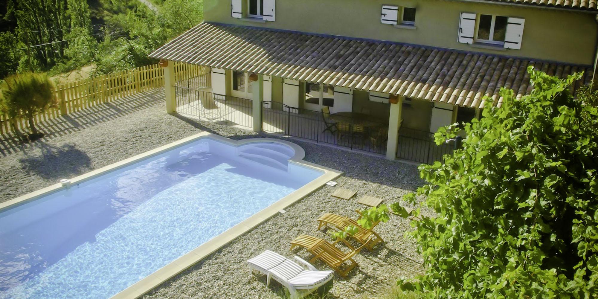 Attractive THE GÎTE | Gîte Drôme Provençe Capacité 6 Personnes Piscine Jardin Terrasse